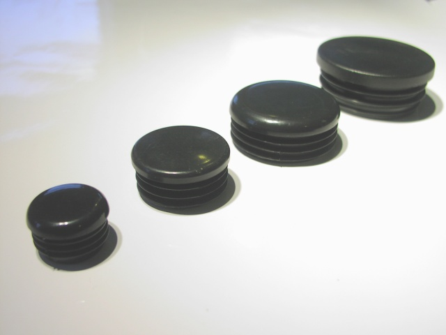 Plastic tube cap (1 1/2 inch or 38mm OD)